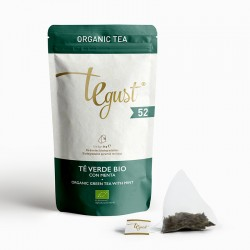 52 - BIO Green tea with mint - zip
