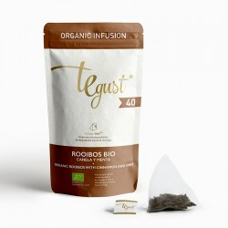 40 – Organic Rooibos with cinnamon and mint-zip